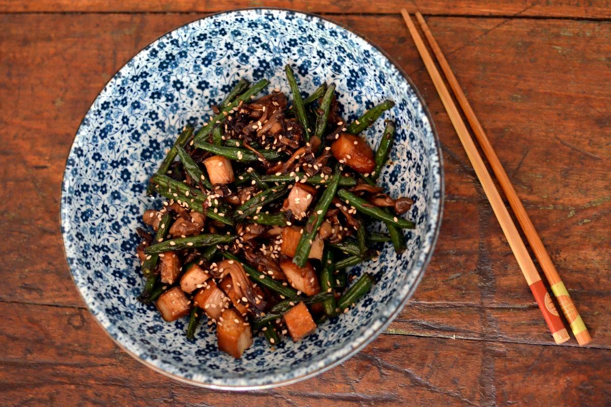 receita de shimeji com tofu vegetariano
