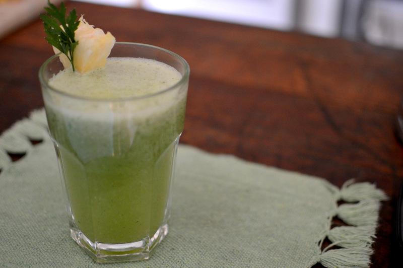 receita suco verde