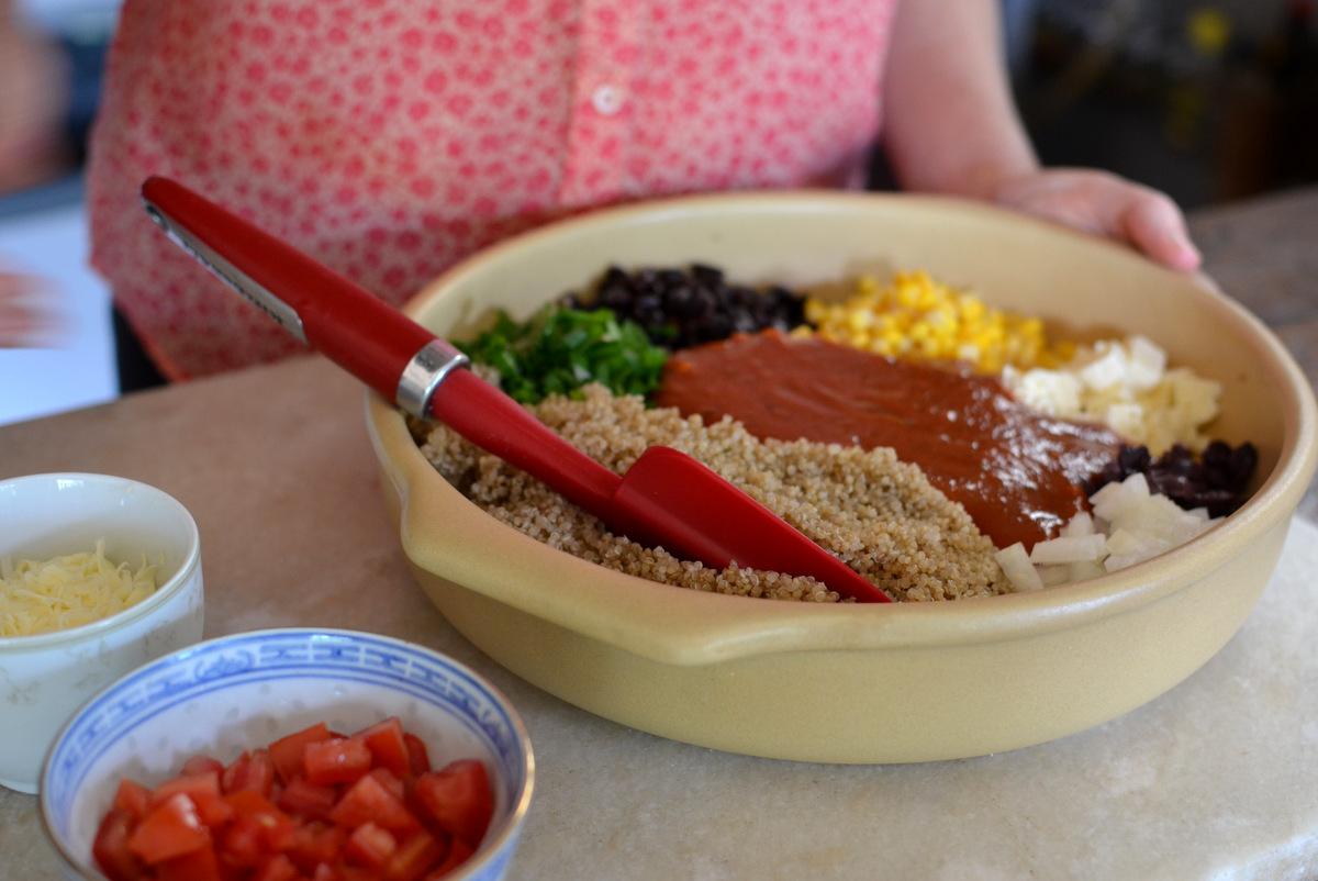 ingredientes de cassarola de quinua