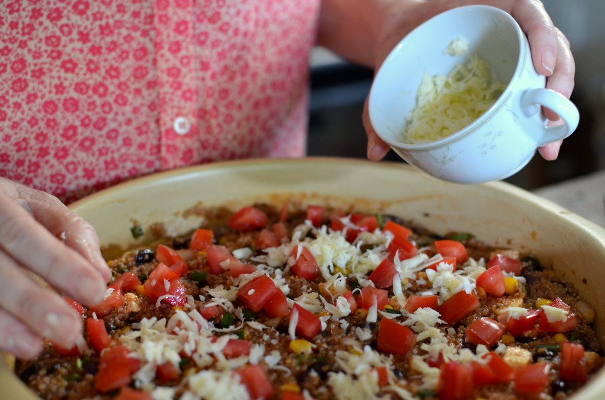 receita de cassarola de quinua