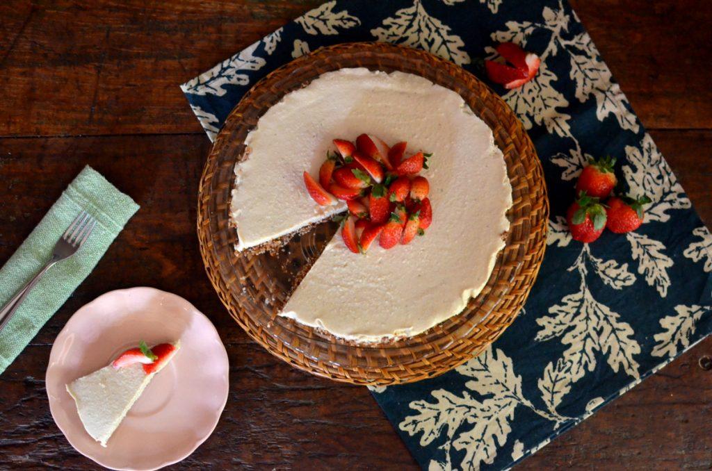 cheesecake sem lactose