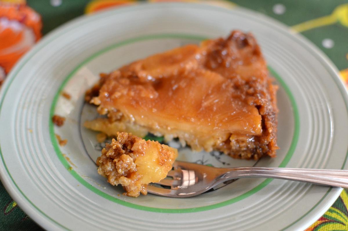 receita torta de abacaxi integral