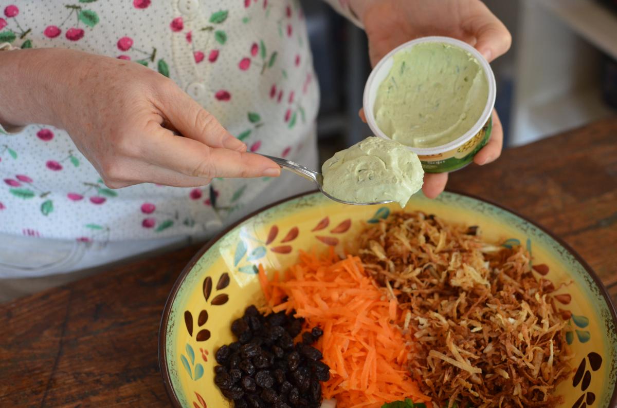 receita de salpicão de inhame