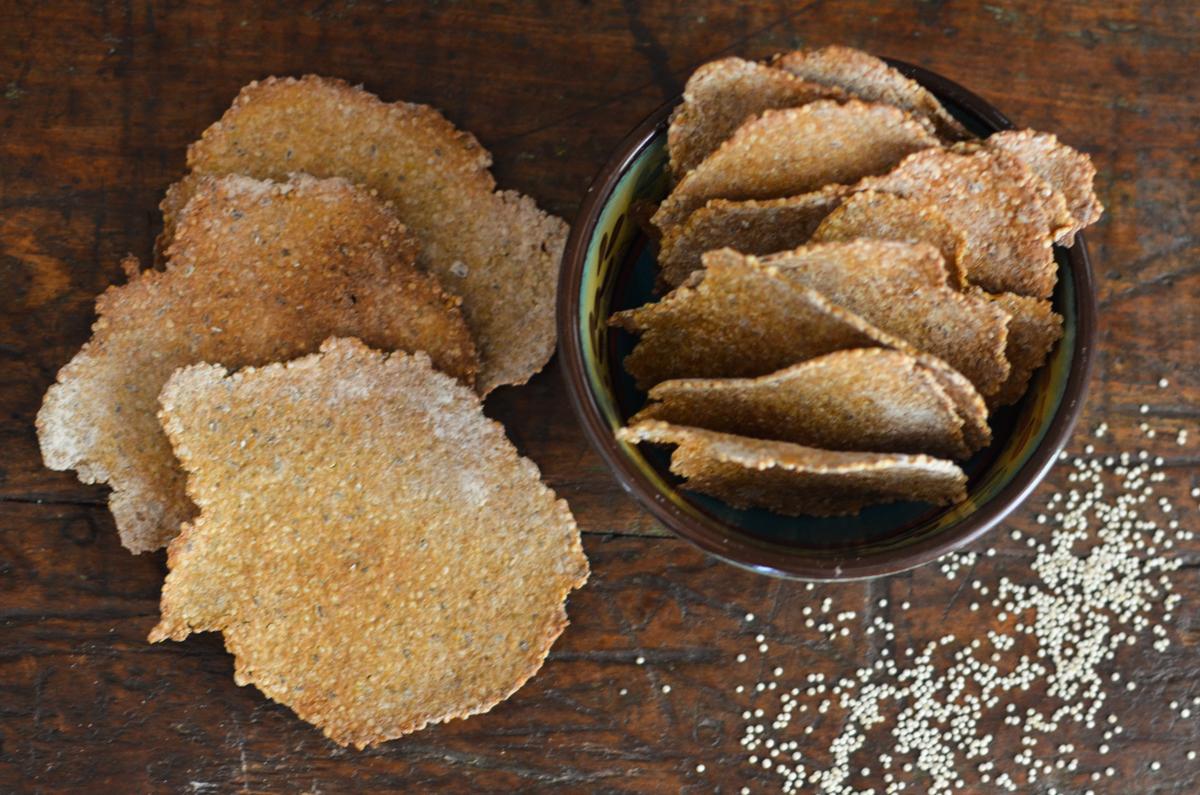 Cracker de quinua biscoito de quinua