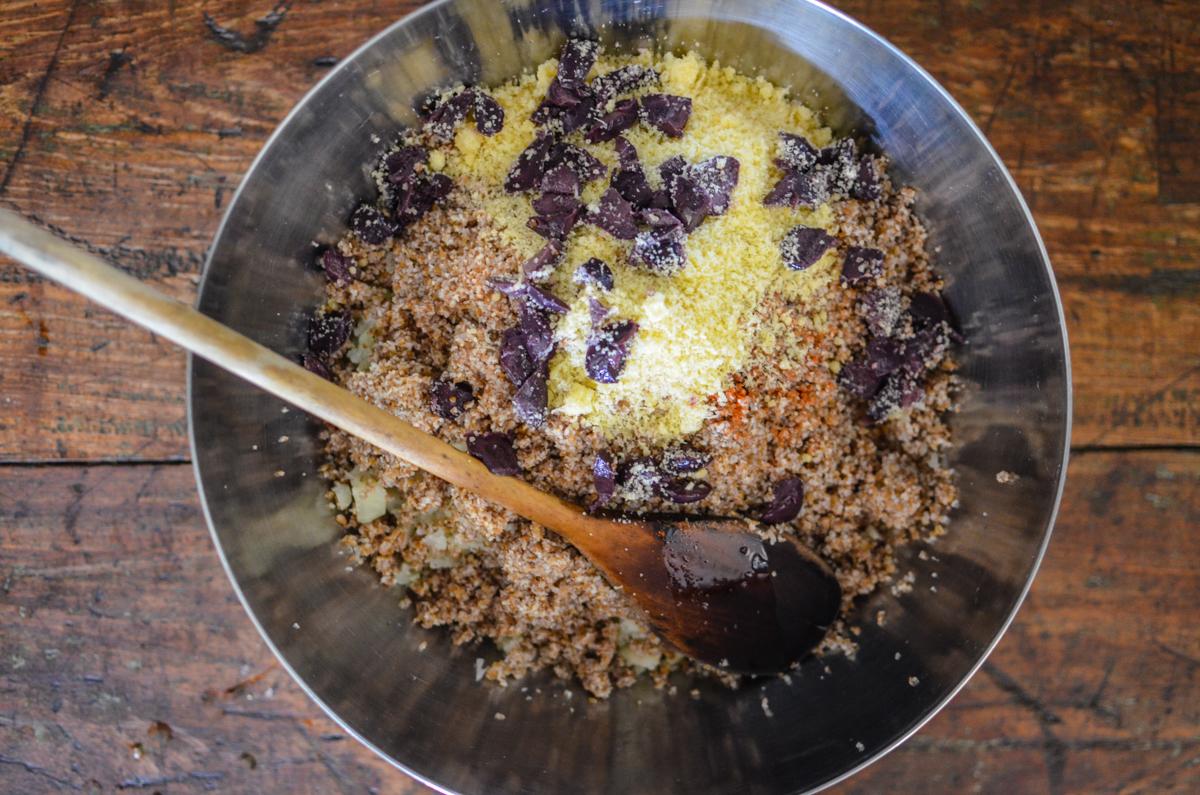 modo de preparo quibe de couve flor