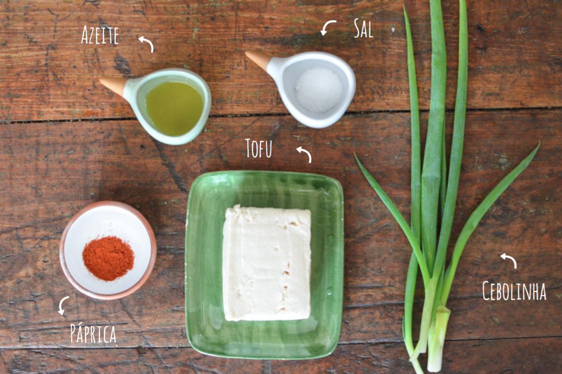 ingredientes pasta de tofu