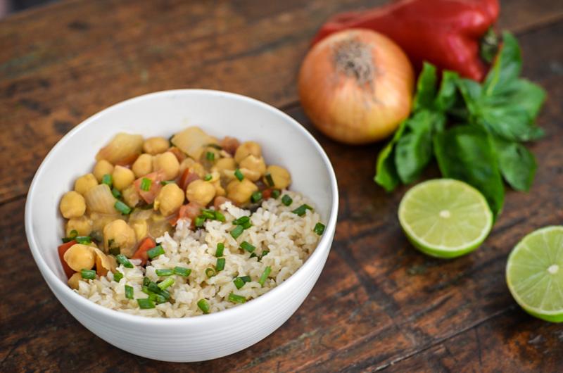 receita curry de grao de bico