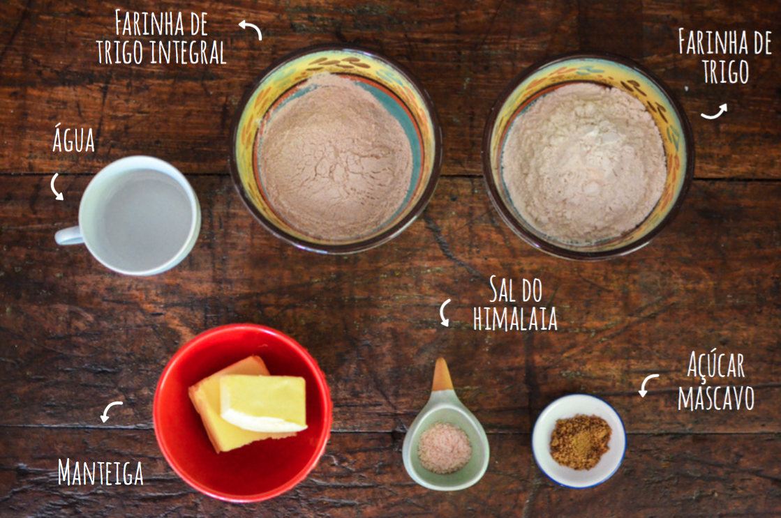 ingredientes massa para quiche