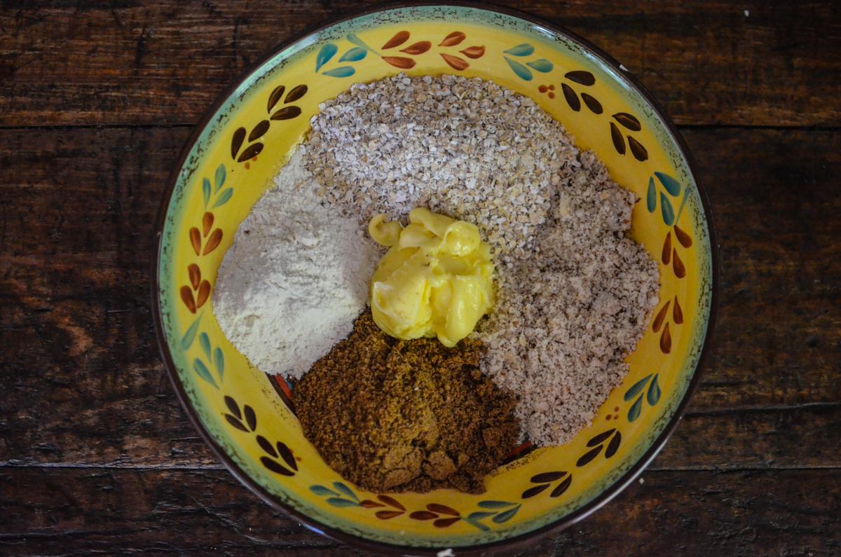 Cheesecake de manga e Castanha do Pará