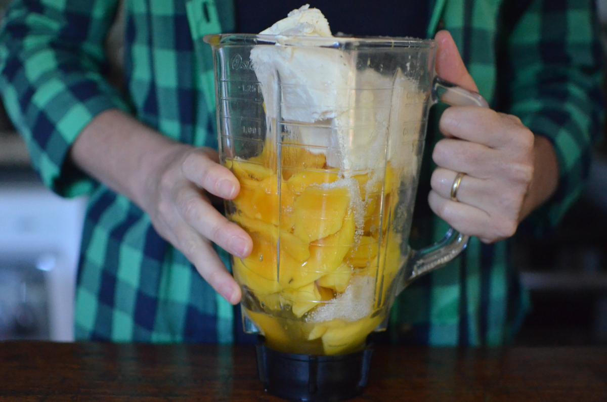 como fazer cheesecake de manga