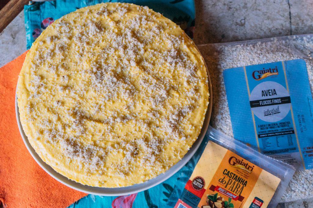 Receita: cheesecake de manga e Castanha do Pará