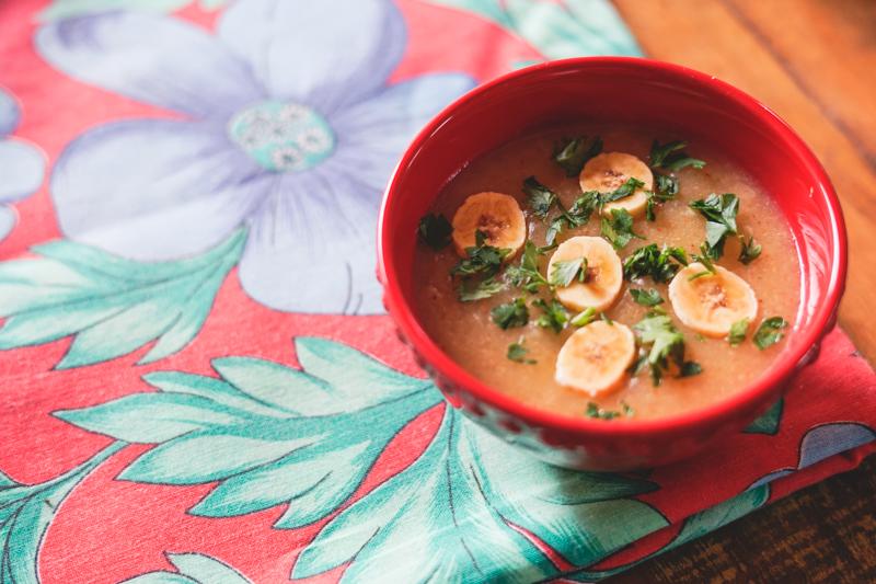 receita de sopa de mandioca diferente