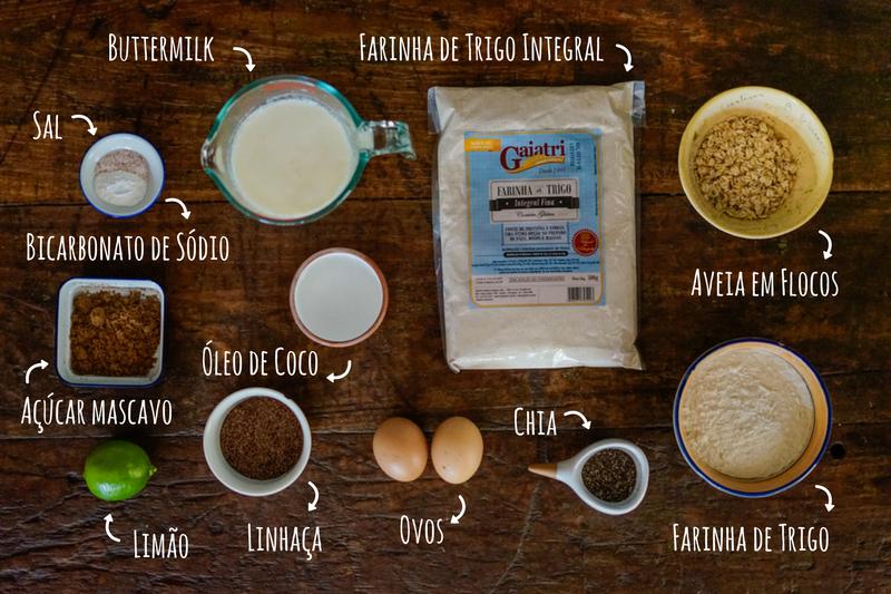 ingredientes panqueca integral