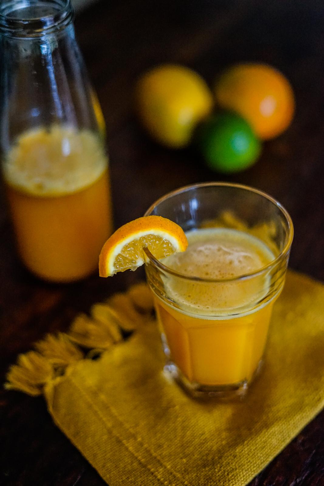 limonada com açafrão da terra