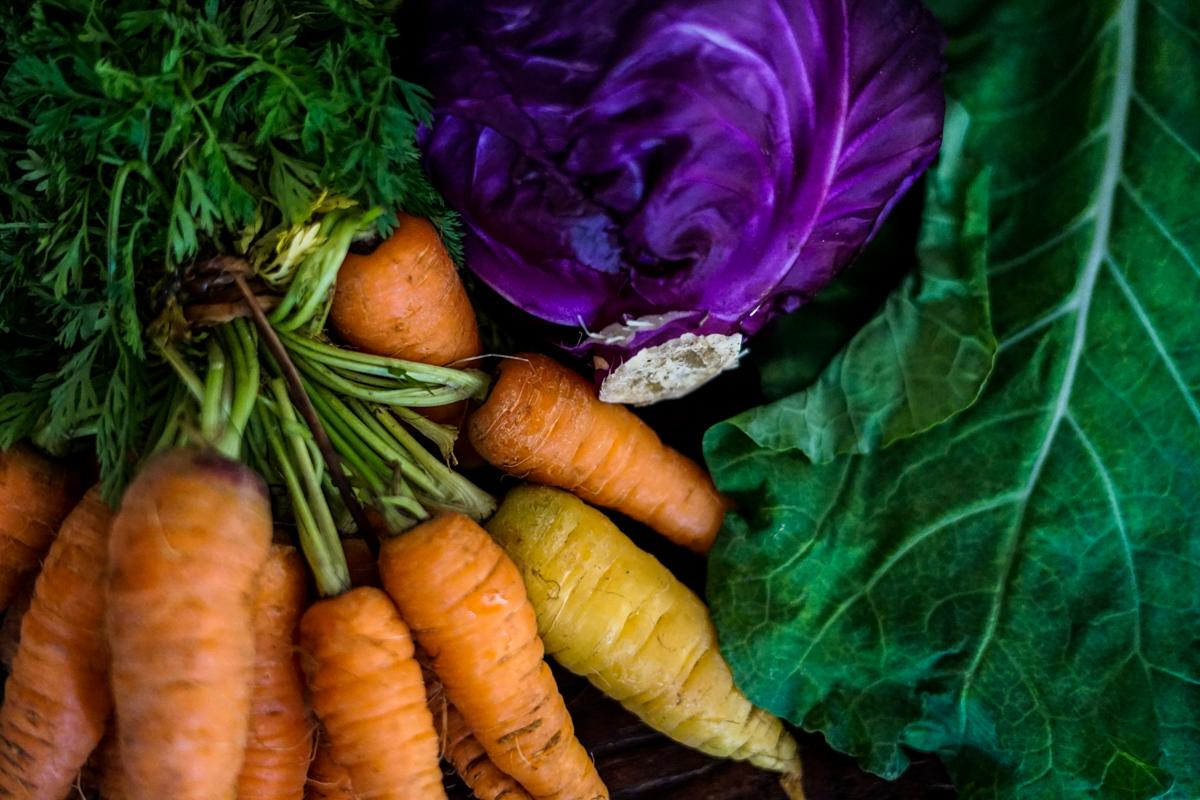 legumes e verduras frescas