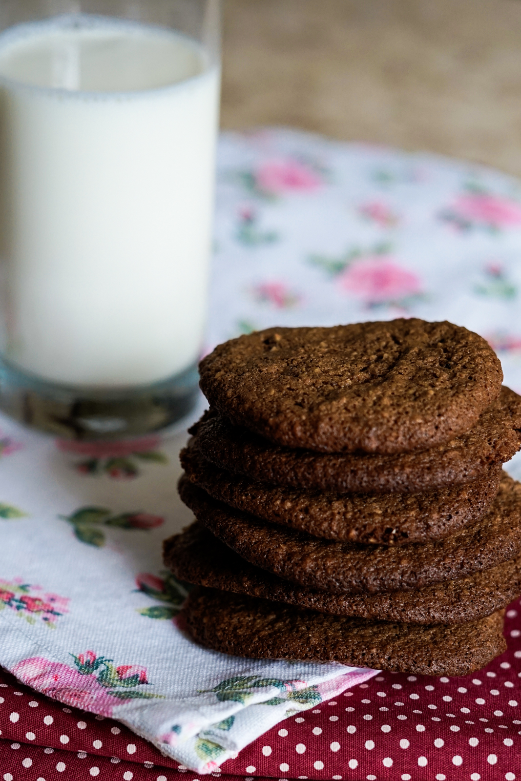 receita de cookie de cacau