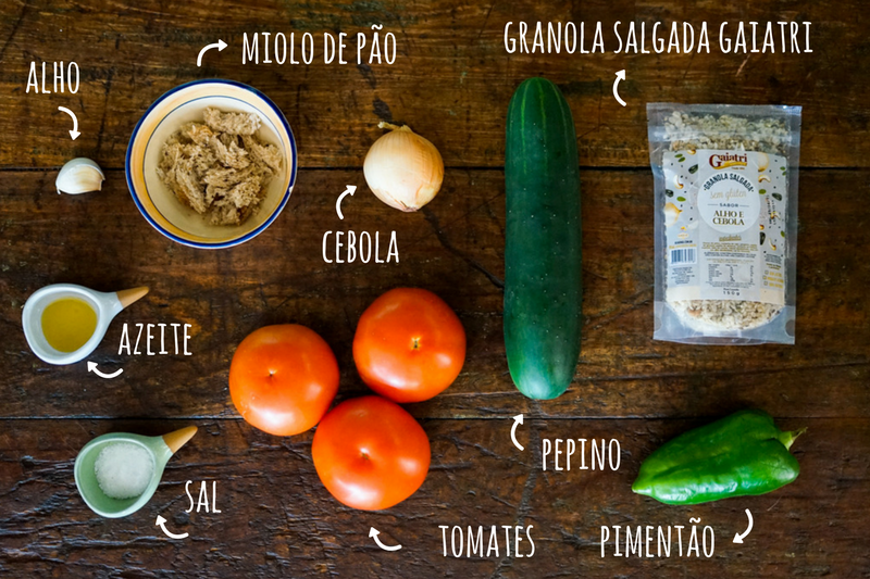 Ingredientes Gaspacho