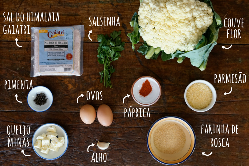 Bolinha de queijo low carb ingredientes