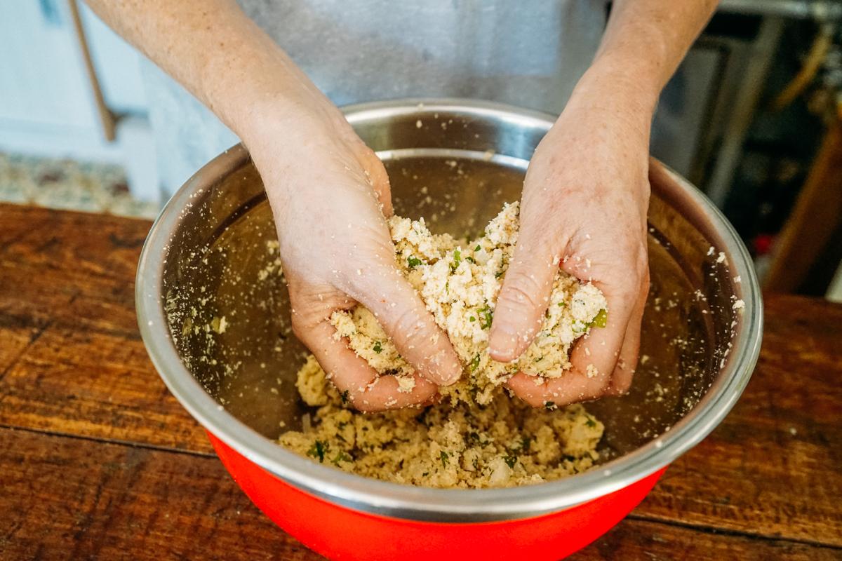 Passo a passo para fazer croquete vegano de soja