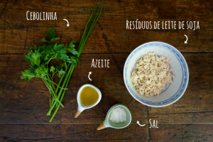 Ingredientes croquetes de soja