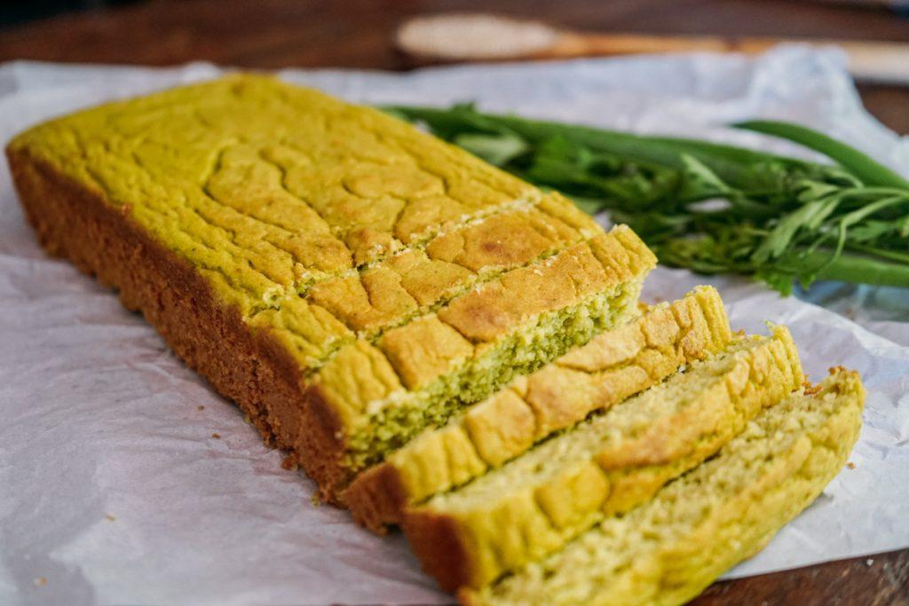 Receita: pão de abobrinha (low carb)