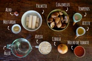 ingredientes strogonoff vegetariano