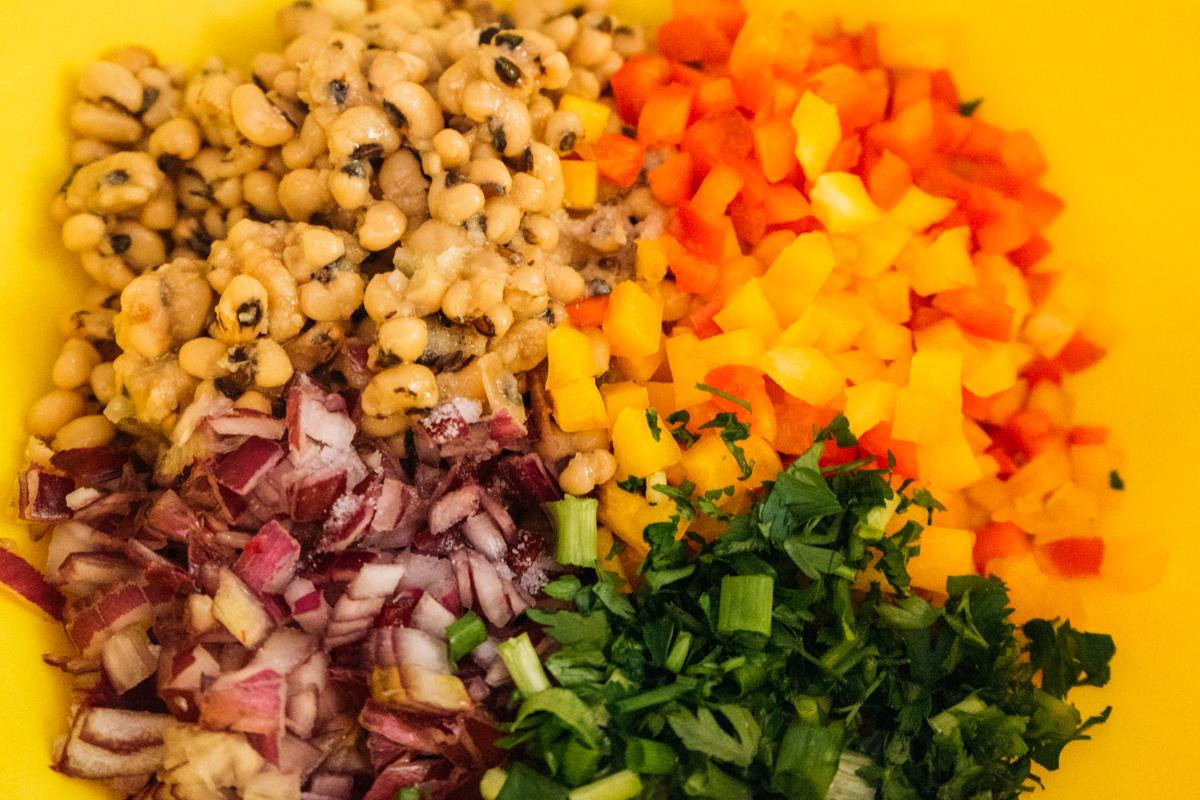 modo de preparo salada de feijão fradinho