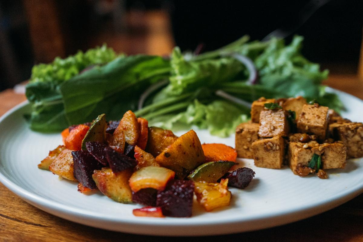legumes ao forno com azeite e temperos