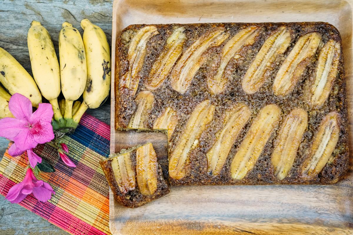 Como fazer Bolo de Banana Vegano