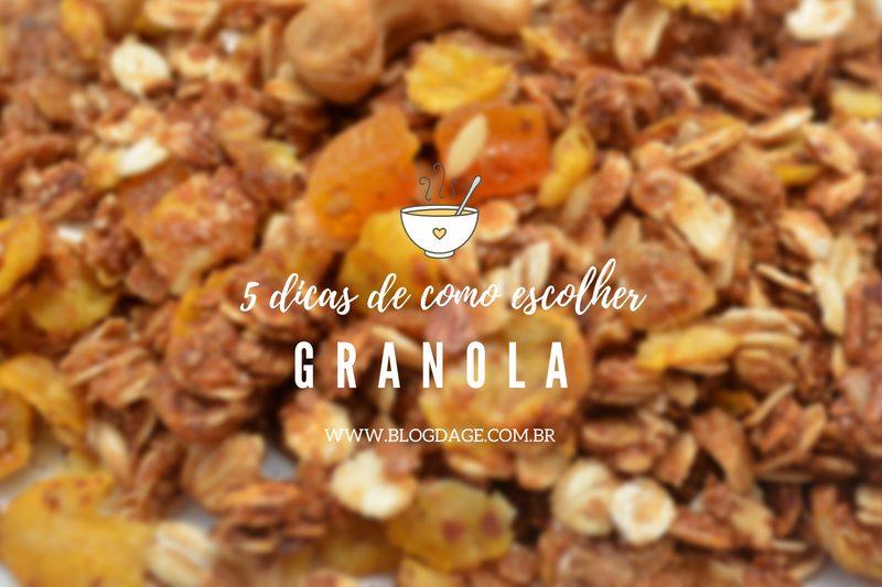Como escolher a granola ideal para você: 5 dicas imperdíveis
