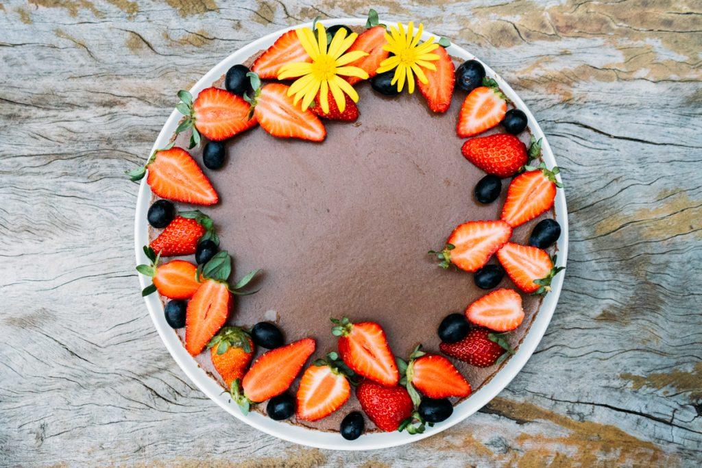 Receita: torta de chocolate vegana