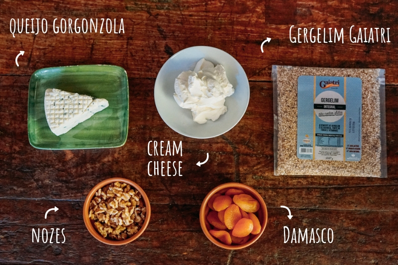 Ingredientes Terrine de  Gorgonzola