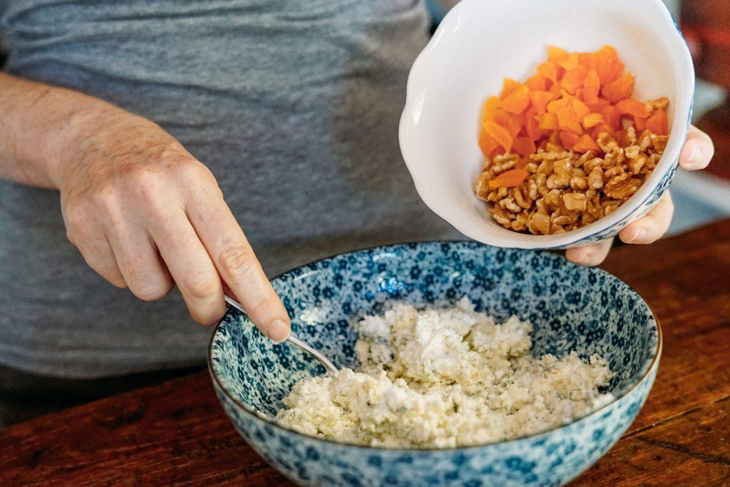 Modo de preparo Terrine de Gorgonzola