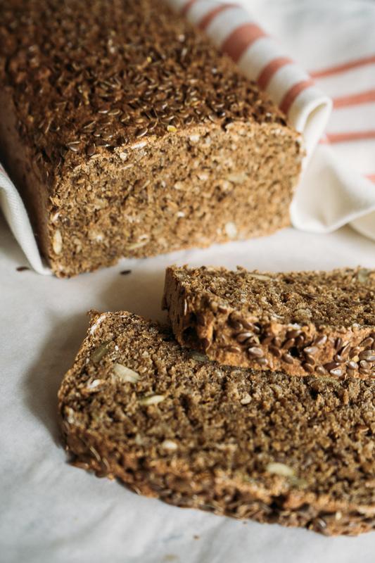 Pão integral feito em casa
