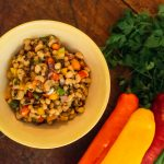 Salada de feijão fradinho ingredientes