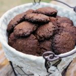 cookie de chocolate vegano