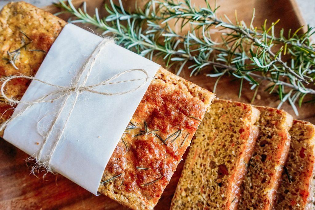 Pão de Cenoura Low Carb