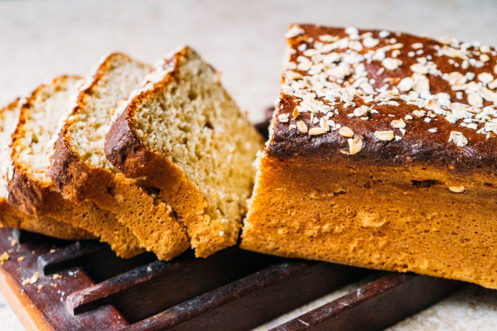 pão de aveia e mel